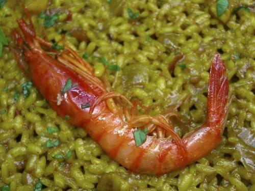 arroz-a-banda-con-gamba-roja